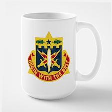 DUI - 46th AG Battalion (Reception) Large Mug