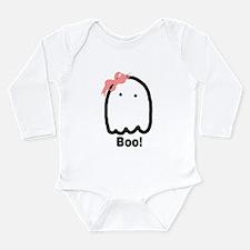 Cute Boo Long Sleeve Infant Bodysuit