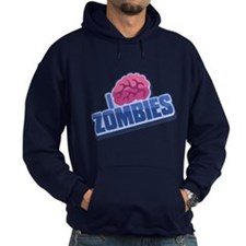 Plight of the Zombie in Blue Hoodie