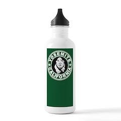 Yosemite Green Circle Water Bottle