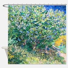 Van Gogh Lilacs Shower Curtain