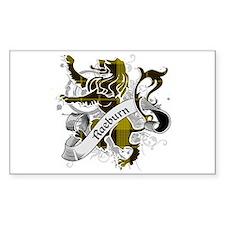 Raeburn Tartan Lion Decal