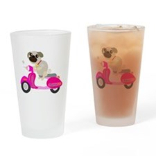 Vespug! Drinking Glass