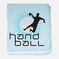 handball baby blanket