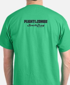 Plight of the Zombie in Green T-Shirt