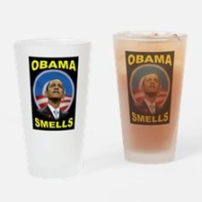 OBAMA SMELLS Drinking Glass