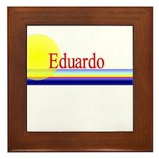 Eduardo Framed Tile