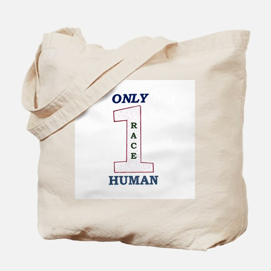 Only One Race Tote Bag