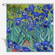 Van Gogh - Irises 1889 Shower Curtain