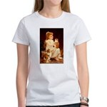 PLAYING WITH THE KITTEN Women's T-Shirt