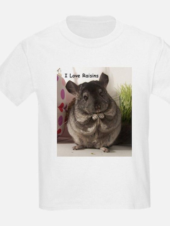 Chinchilla raisins T-Shirt