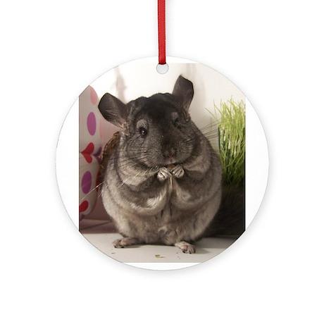lovely chinchilla Ornament (Round)