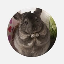 lovely chinchilla Ornament (Round)