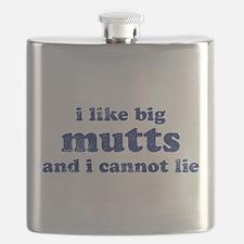 I Like Big Mutts Flask