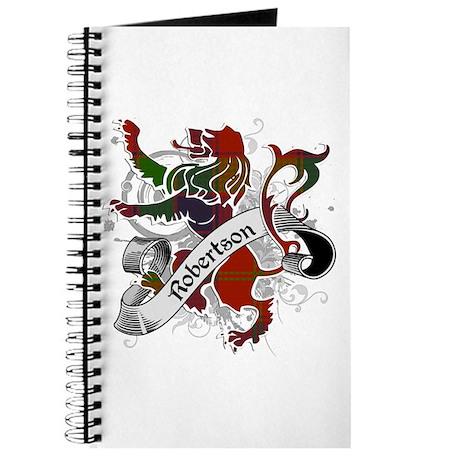 Robertson Tartan Lion Journal