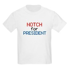Minecraft Notch for President T-Shirt