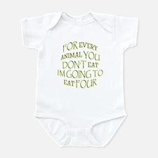 I'll Eat Four Infant Creeper