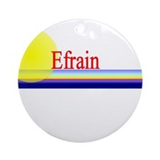 Efrain Ornament (Round)