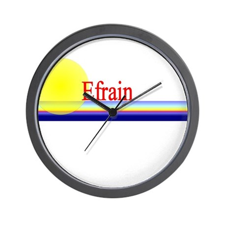 Efrain Wall Clock