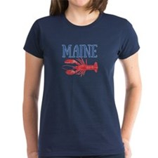 Maine Watercolor Lobster Tee
