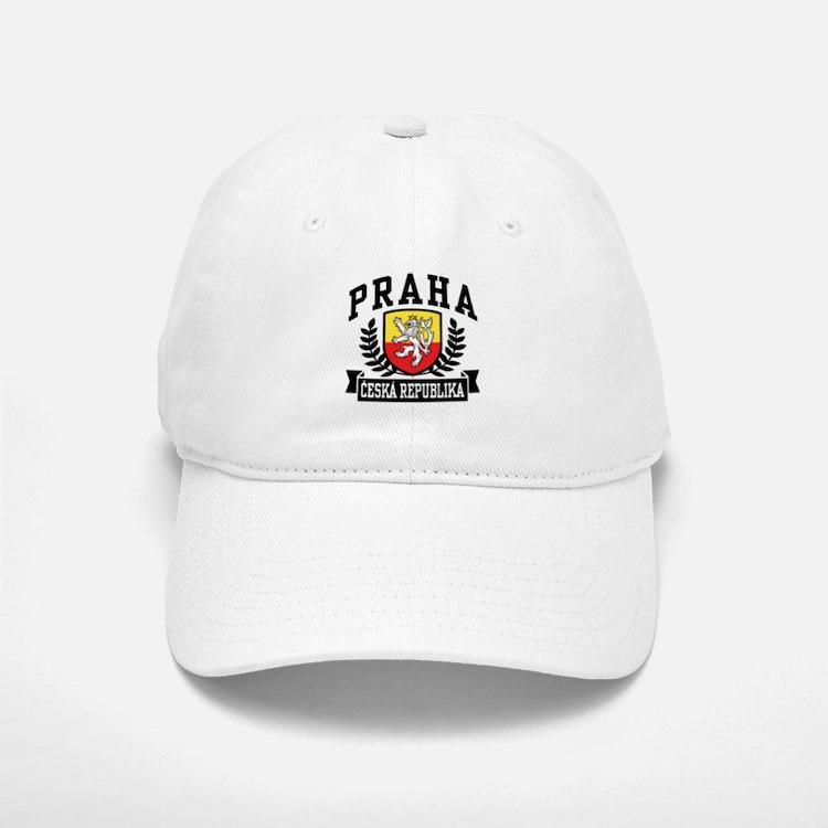Praha Ceska Republika Baseball Baseball Cap
