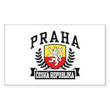 Praha Ceska Republika Decal