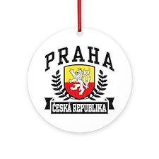 Praha Ceska Republika Ornament (Round)