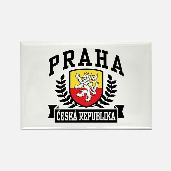 Praha Ceska Republika Rectangle Magnet