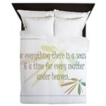 For everything there is a season Queen Duvet