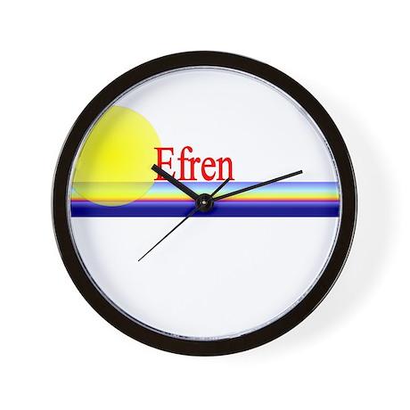 Efren Wall Clock