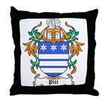 Pitt Coat of Arms Throw Pillow