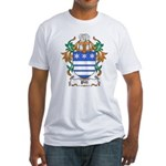 Pitt Coat of Arms Fitted T-Shirt