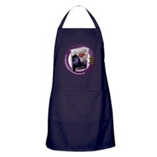 Open Heart With Closed Eyes 1 Apron (dark)