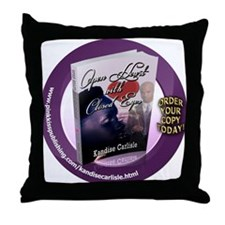 Open Heart With Closed Eyes 1 Throw Pillow