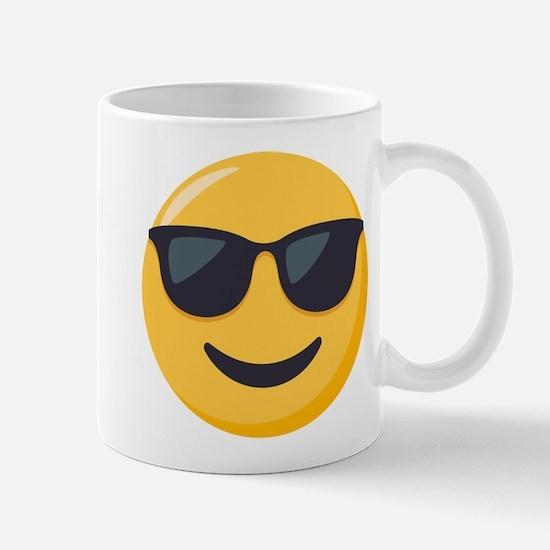 Sunglasses Emoji Mug