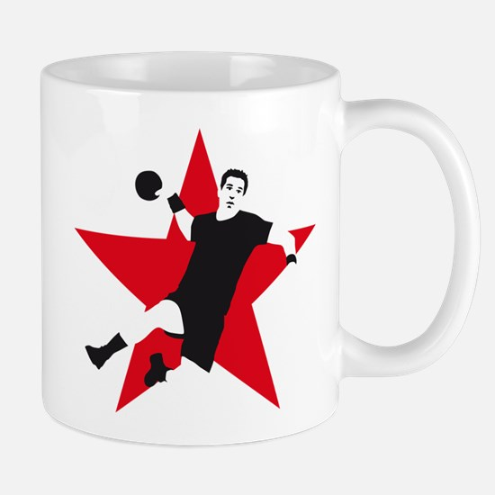 handball player star Mug