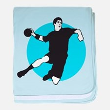 handball player baby blanket