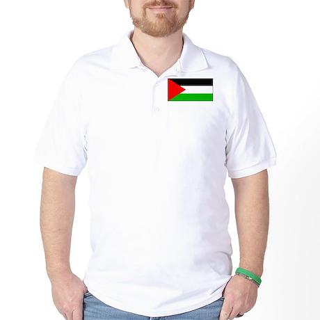 Palestinian Blank Flag Golf Shirt
