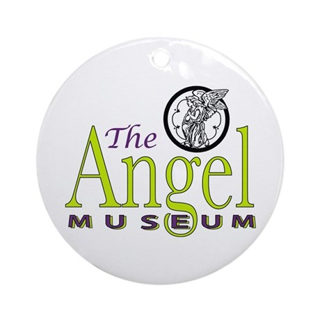 Angel Museum Logo Ornament (Round)
