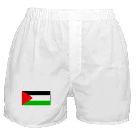 Palestinian Blank Flag Boxer Shorts