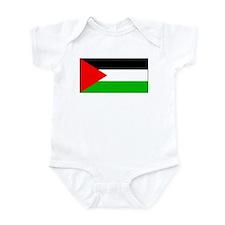 Palestinian Blank Flag Infant Creeper