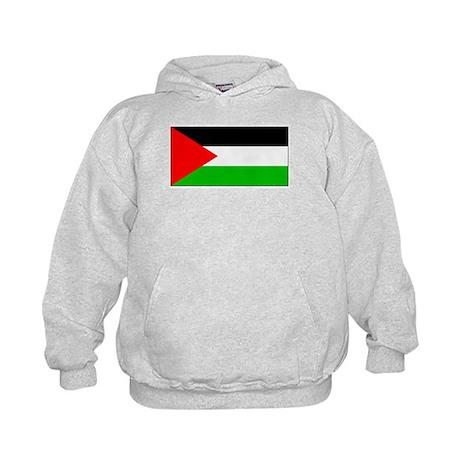 Palestinian Blank Flag Kids Hoodie