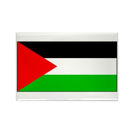Palestinian Blank Flag Rectangle Magnet (10 pack)