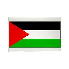 Palestinian Blank Flag Rectangle Magnet