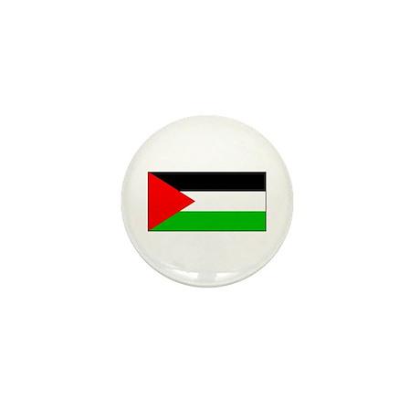 Palestinian Blank Flag Mini Button