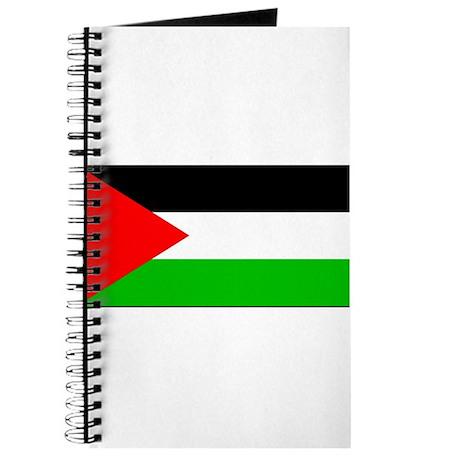 Palestinian Blank Flag Journal
