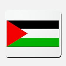 Palestinian Blank Flag Mousepad