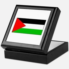 Palestinian Blank Flag Keepsake Box