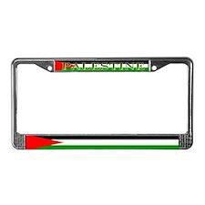 Palestinian Blank Flag License Plate Frame