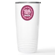 Worlds Best Singer Choir Gift Ceramic Travel Mug